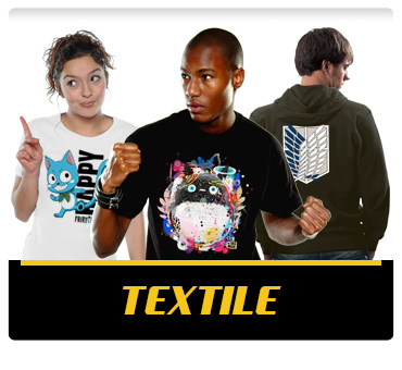 T-shirts, Sweats shirts et Casquettes manga